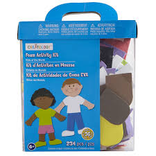 creatology foam activity kit kids of the world