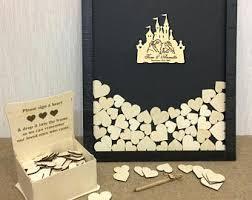 wedding wish box wedding wish box etsy