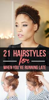 cute hairstyles you can do in 5 minutes 21 hairstyles you can do in less than five minutes