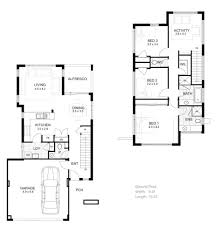 Small One Bedroom House - house plan entrancing 20 2 story house floor plans design ideas of