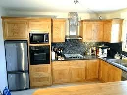 meuble de cuisine en bois meuble de cuisine bois facade meuble cuisine bois brut pour idees de