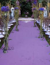 purple aisle runner inspiration event and venue decoration hire
