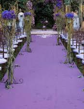 Purple Aisle Runner Inspiration Event And Venue Decoration Hire