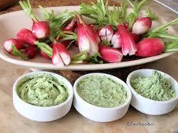 cuisiner feuilles de radis radis au beurre de fanes et creme aux artichauts et olives noires