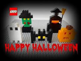 lego halloween videos how to build an easy halloween lego set