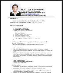 Example Of Resume For Fresh Graduate Information Technology by Resume Sample Fresh Graduate Accounting Resume Ixiplay Free