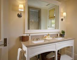 Large Bathroom Mirror Ideas Creative Ideas For Bathroom Mirrors Rectangular Black Stained