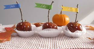 edible favors 11 diy edible thanksgiving table favors forkly