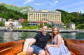 a luxury lake como boat trip with grand hotel tremezzo