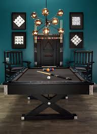 American Pool Dining Table James Teak Pool Table Can Be Hidden Away To Become A Dining