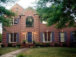 brick front house cost door portico front door portico somerville