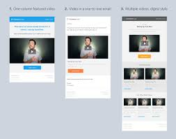 templates for video website 4 free video email templates for download