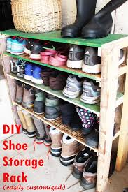 diy shoe storage shelves for garage an easy fast and versatile