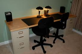 Cheap Desk Top How To Build A Double Or Single Desk On The Cheap Raising4boys Com