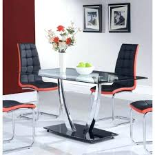 chrome dining room sets chrome dining room sets black and chrome dining table with