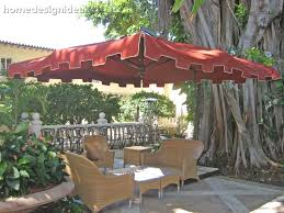Offset Patio Umbrellas Clearance by Decorating Offset Patio Umbrella Base With Patio Umbrellas Target