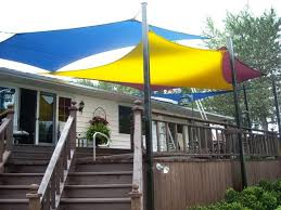 Backyard Shade Sail by Sun Shade Sails And Shade Sail Structures By Ray Catchers Photo