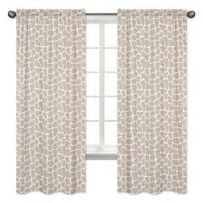 animal print curtains u0026 drapes you u0027ll love wayfair