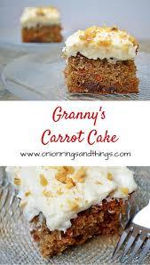 granny u0027s carrot cake onion rings u0026 things