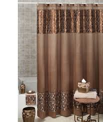 Seashell Fabric Shower Curtain Decorating Hookless Shower Curtain And Liner Set Walmart