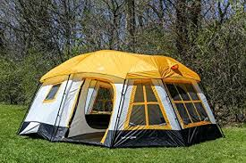 cabin tent tahoe gear ozark 3 season 16 person large family cabin tent