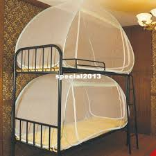 Travel Bunk Beds Mini House Automatic Folding Mosquito Net Student Single Bed Bunk