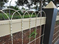 ornamental loop fencing galvanized 8 wire 100 roll x 50