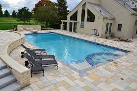 the roof king gold basketball hoop is mounted to a typical looking images of pools by pool tech midwest iowas premier builder a waterfall in spa diving stone