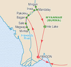 Irrawaddy River Map Golden Lands Of Myanmar February 2018 Craig Travel