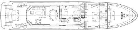 yacht event layout westport 125 raised pilothouse motor yacht wp125 38m