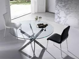 Modern Glass Dining Table Glass Dining Tables And Chairs Modern Furniture Dining Room