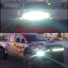 Led Light Bar 12v by 36w 2500 Lm Super Bright Reflection Cup Led Work Light Bar Offroad
