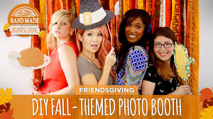 themed photo booth diy fall themed photo booth hgtv friendsgiving