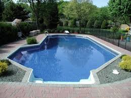 Pool In Backyard by 18 Best In Ground Pools Images On Pinterest In Ground Pools In