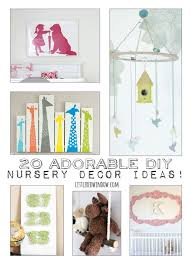 Diy Nursery Decor 20 Adorable Diy Nursery Decor Ideas Window