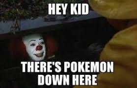Creepy Clown Meme - funny pokemon memes page 2 memeologist com