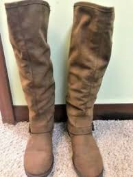 s boots knee high brown steve madden roady knee high brown leather boots