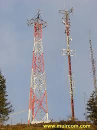 radio tower muir communications ltd victoria bc canada radio tower site