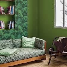 peinture canapé cuir peinture salon 30 couleurs tendance pour repeindre le déco
