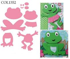 marianne design die collectables frog set knutselruimte