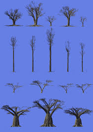 Define Tree Procedural World Mango Sequoia Baobab