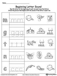 trace words that begin with letter sound k printable worksheets