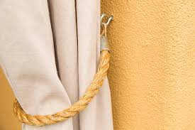 Curtain Rope Tie Backs Pipe And Drop Cloth Outdoor Curtains With Nautical Tie Backs