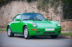 ruf porsche 911 1985 porsche 911 3 2 carrera in speedway green sold ferdinand