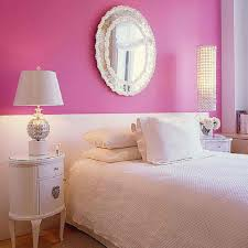 home design bedrooms white and pink wall color bination for cute