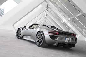 silver porsche spyder porsche issues recall for 918 spyder affects 223 cars in the usa
