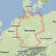 germany europe map walking holidays to germany