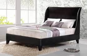 Platform Bed Headboard Upholstered Platform Bed Furniture With Curved Headboard 186 Xiorex