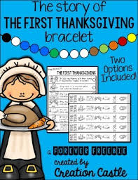 thanksgiving bracelet free classroom freebies from my