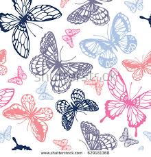 abstract pattern butterfly vector butterflies pattern abstract seamless background stock vector